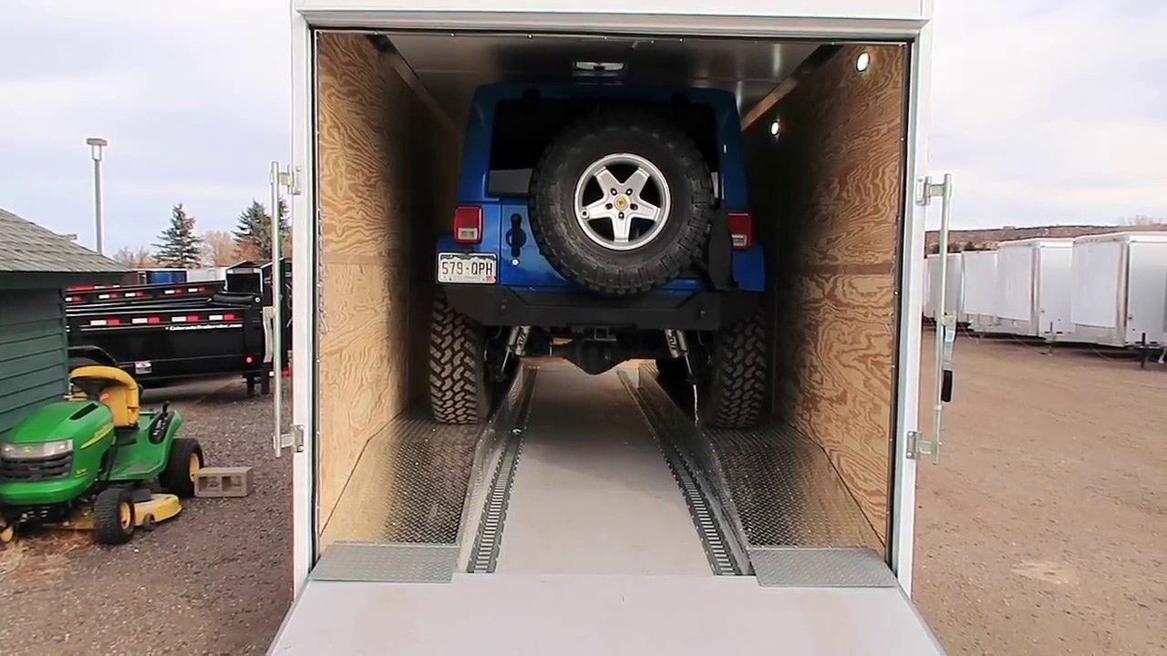 Perfect Jeep And Rock Crawler Trailer Updated Youtube