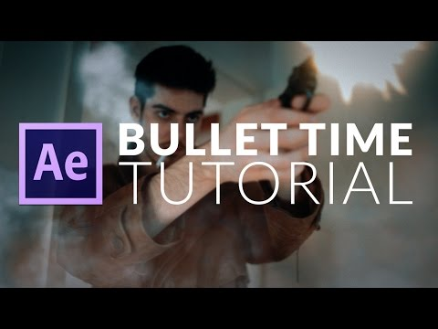 Tutorial: Bullet Time / Time Freeze / Deadpool VFX in Adobe After Effects