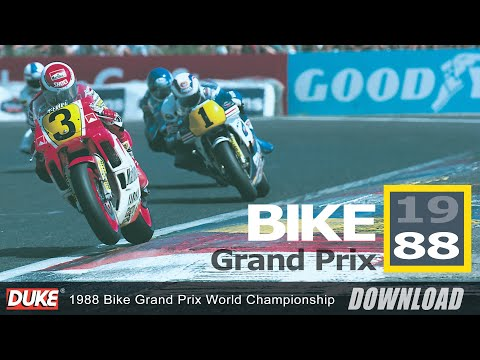 Bike Grand Prix Of Belgium 1988
