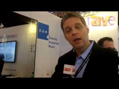 ISE 2013: CloudCasting Corporation Explains its DAM (Directly Acquired Music) Content Offer