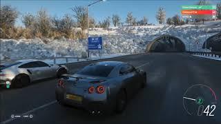Forza Horizon 4 - Balade GTR & GT3 RS (NEIGE)