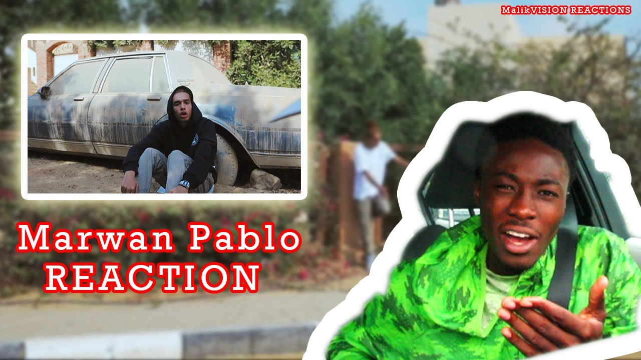 Marwan Pablo REACTION! Folklor (Official Music Video) | MalikVISION