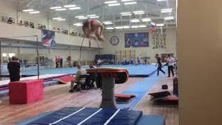 Синичкин Артур - прыжок - 1 разряд обязательная