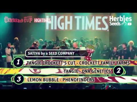 2014 Amsterdam Cannabis Cup Awards Night