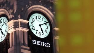 Ginza Wako Clock SONY A77 60p Movie TEST -01- Ginza Tokyo 1 α77 テスト 銀座