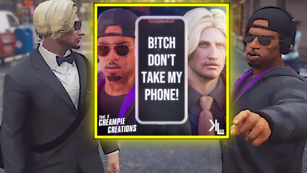 Jean Paul's NEW HIT SINGLE: Bish Don't Take My Phone - ft. Outto-Tune Tyrone