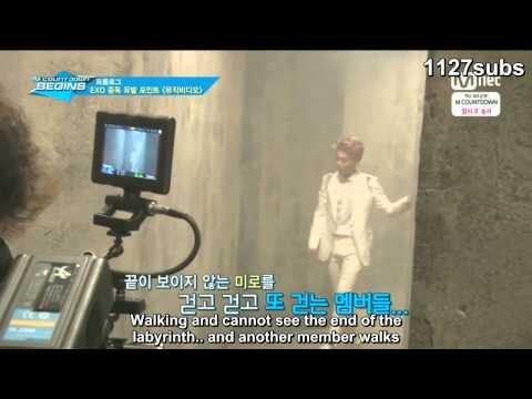 [ENGSUB] EXO Overdose MV BTS