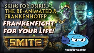 """Frankenfight for your Life!"" Osiris Arena Gameplay and Build (SMITE MOTD)"