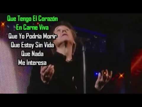 En carne viva Raphael karaoke 2