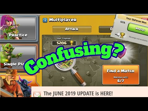 FIRST LOOK AT THE JUNE 2019 UPDATE    NO MORE CLOUDS?    CLASH OF CLANS   