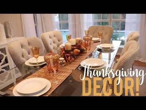 Thanksgiving Decor | My Tablescape!!
