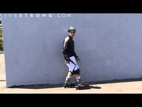 Cách trượt patin cơ bản 4 - Làm sao để dừng lại, cách phanh, thắng trong patin
