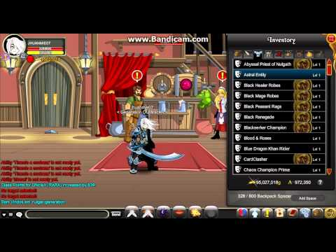 AQW Onclax How To Get Cool Items