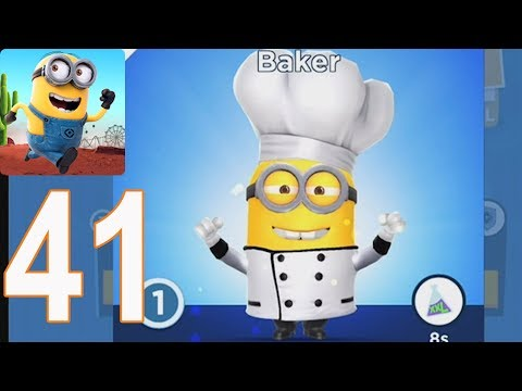Despicable Me Minion Rush - Gameplay Walkthrough Part 41 - Chapter 6(iOS, Android)