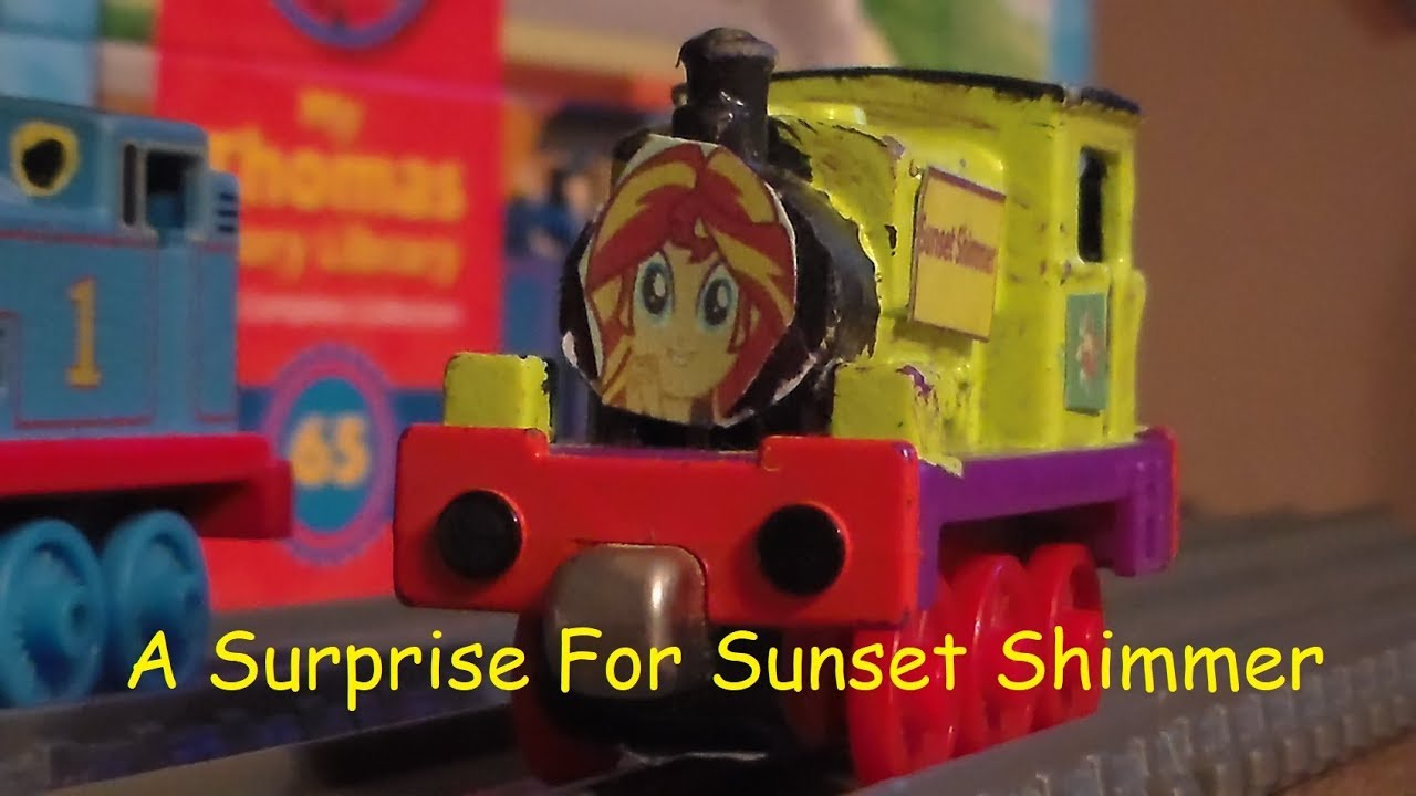 Thomas & Friends The Model Series Season 1 Episode 2 A Surprise For Sunset  Shimmer