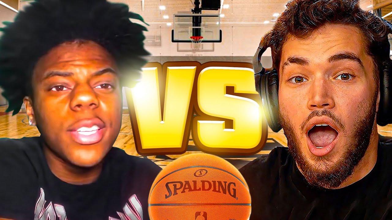 ADIN VS iSHOWSPEED BASKETBALL 1V1 !!