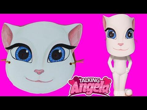 Talking Angela Maske Yapımı Konuşan Kedi Angela Nasıl Yapılır