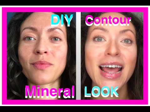 DIY mineral makeup CONTOURING thumbnail