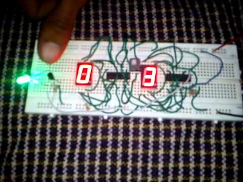 electronics mini project - YouTube