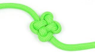 How to make a Clover Knot - BoredParacord.com