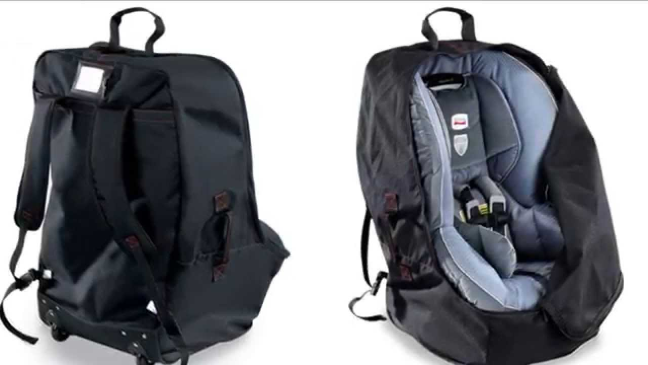 britax car seat travel bag youtube. Black Bedroom Furniture Sets. Home Design Ideas