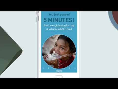2016 UNICEF Tap Project: Put Down Your Phone To Help Give Clean Water To Kids