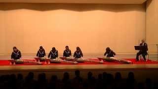 20140119,福岡市立福岡中学校(箏)「GRADATION」