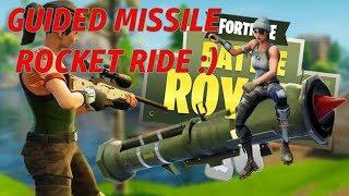 GUIDED MISSILE Rocket Ride Fortnite Battle Royal