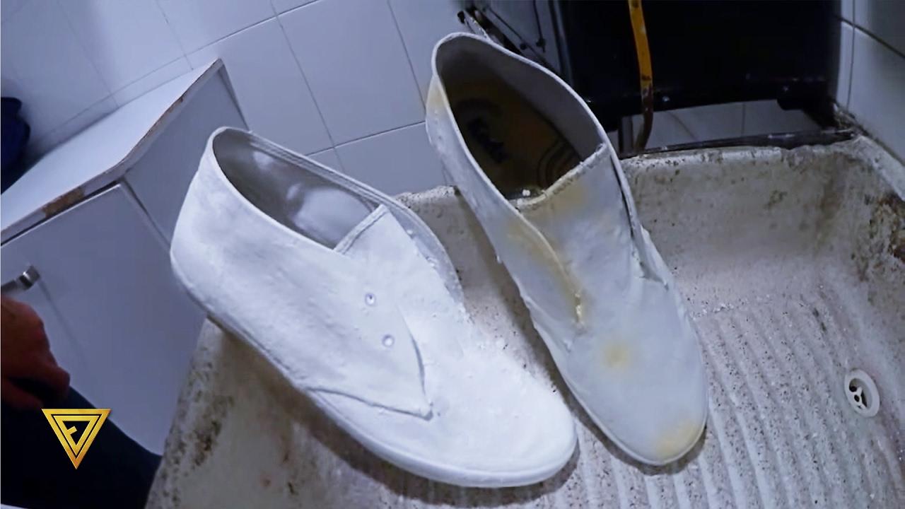 Como Desmanchar Tenis Blancos!!!