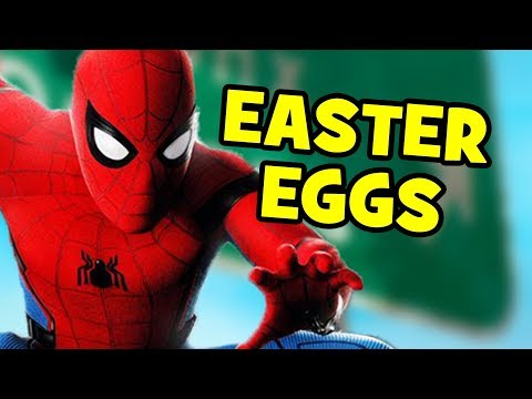 Spider-Man Homecoming EASTER EGGS You Missed + POST-CREDITS SCENES Explained
