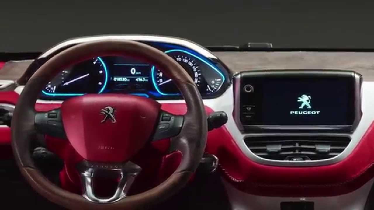 Peugeot 2008 Castagna Gli Interni Youtube