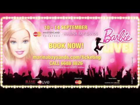 Barbie LIVE! Singapore TVC - WORLD PREMIERE IN SINGAPORE (10 to 14 Sep 2013)