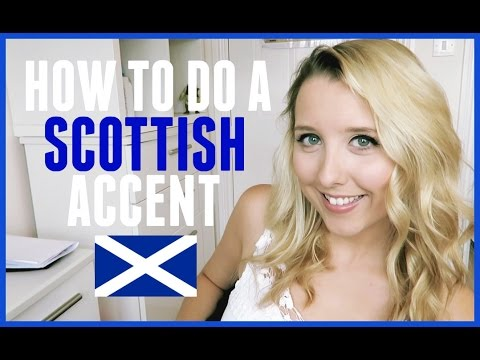 HOW TO DO A SCOTTISH ACCENT! | BeautyCreep