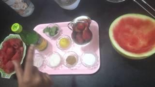 Watermelon Strawberry Lemonade By Vijaya