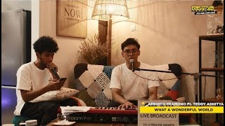Gambar cover Ardhito Pramono feat Teddy Adhitya - What A Wonderful World (covering Louis Armstrong)