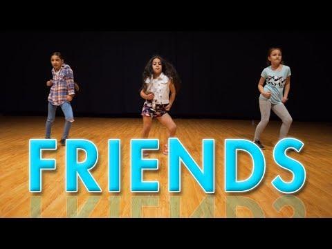 Marshmallo - Friends ft. Anne-Marie (Dance Video) | Easy Kids Choreography | MihranTV