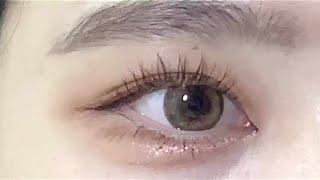 렌즈미 긴자베이지/ 렌즈추천/ 학생렌즈/ 갈색렌즈/ 자…