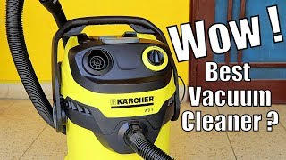 The Best Vacuum Cleaner? | Karcher Wd5 Wet And Dry Vacuum Cleaner Review | High Power Vacuum Cleaner