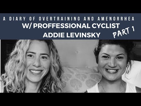 Addie Part 1: Overtraining & Amenorrhea//Signs, Symptoms, Mistakes