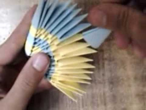 How To Make 3d Origami Fish Youtube
