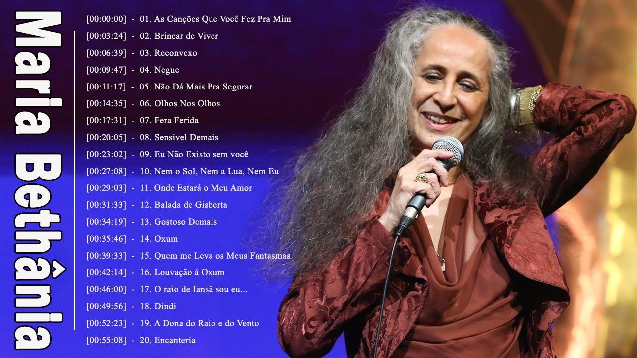 As Melhores Musicas De Maria Bethânia | Maria Bethânia Album Completo | Maria Bethânia  Lançamento