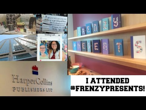 MY FIRST EVER VISIT TO #FRENZYPRESENTS + BOOK SWAG/ARC HAUL