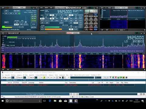 Testing a 360m skyloop antenna - Radio Nikkei 3925 kHz