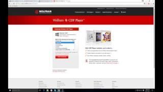 Download CDF player
