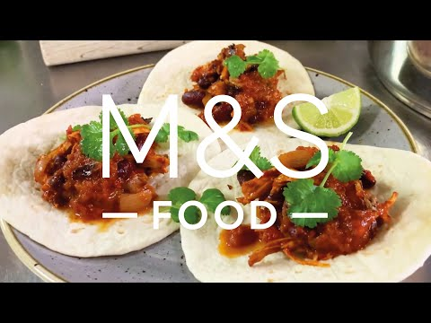 Chris' Cheeky Chicken Chilli Tacos   M&S FOOD