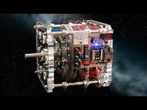 Gyroscopic Inertia Pulse Motor Generator DEMO - 3 new inventions - one machine