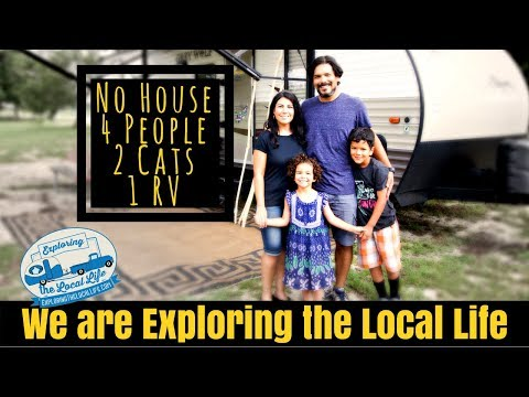 Exploring the Local Life – Frugal Full Time RV Living in a Travel Trailer with Kids