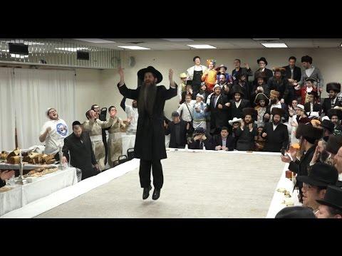 Heichal Hatefillah with Rabbi Eisenberger Purim 5777
