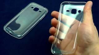 ОБЗОР: Ультратонкий Силиконовый Чехол-Накладка для Samsung Galaxy J2 SM-J200H(, 2015-12-19T13:47:39.000Z)