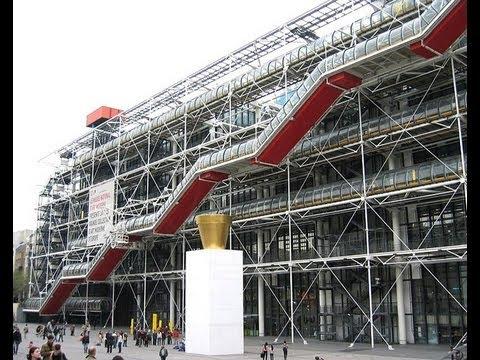 Centre Pompidou.  Paris 1993